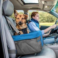 Comercio al por mayor de la mascota de viaje portátil cama auxiliar pequeño cachorro fundas de asiento de coche para perros
