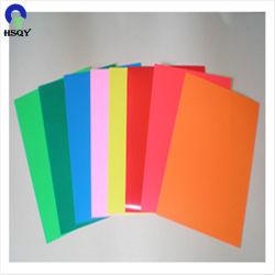 A4 PVC Document Feuille de papier de couverture de livre l'école les fournitures de bureau Effacer couverture du dossier