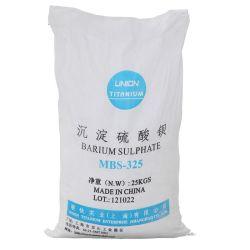 Bariumsulfat präzipitierte MBS 325 für Beschichtung, Druckfarbe, Papier, Kunststoff, Gummi