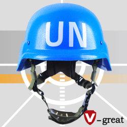 De ballistische Kogelvrije Helm van Pasgt van de Militaire politie