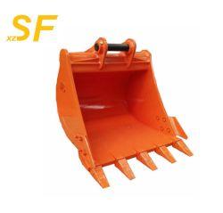 20t de tamaño estándar OEM excavadora hidráulica de la Cuchara para trabajo pesado /Cuchara trituradora de la excavadora