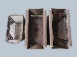 حقيبة صغيرة الحجم من الألومنيوم عالي الصلابة فائقة الخيوط HT-من الألومنيوم الفطرى