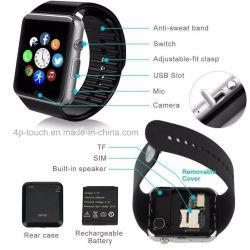 Smart montre téléphone portable avec fente pour carte SIM GT08