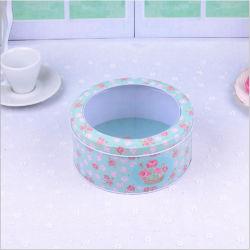 Venda por grosso padrão Rts cesto vazio Lata Box como recipiente de alimentos ou de embalagem de metal alto Itens de estoque