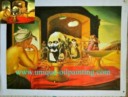 Les peintures, la main d'huile Huile sur toile, huile sur toile de Dali