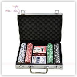 Casino 200PCS Alluminum Caso Poker Chip Set