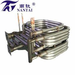 OEM/ODM 20 HP 티타늄 스퀘어 이중 튜브 가열 교환기