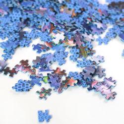 Venda por grosso de jogos adultos 1.000 peças de plástico personalizada personalizada quebra-cabeças