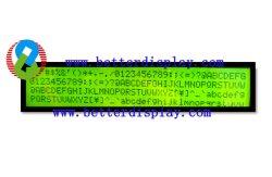 وحدة LCD من النوع Stn 40X4 (190.0 (W) *54.0 (H) مم)