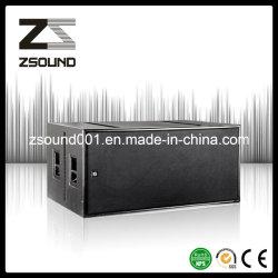 Bestes Qualitätsdoppeltes 18 Zoll - hohe Empfindlichkeits-im Freienzeile Reihen-Lautsprecher