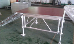 1,22 x1.22m fase de alumínio Platform movendo a fase de alumínio palco de eventos