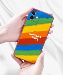 هاتف سائل شبه، مزود بغلاف فني، مزود بخاصية رينبو ملوّن ناعمة، لنظام Android وiPhone، وملحقات الهواتف المحمولة، والقادمين الجدد، وأسلوب الرسم الفني للزيت