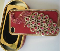 Cassa Jeweled del cellulare per iPhone4