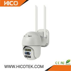 Camera van het Systeem PTZ van de Veiligheid van het Huis van het Lichaam van de Koepel van de Actie van kabeltelevisie van Hicotek 2MP de Digitale Draadloze Video Openlucht Binoculaire