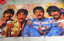 Diseño de imagen de mosaico, el arte de la imagen patrón mosaico (HMP912)