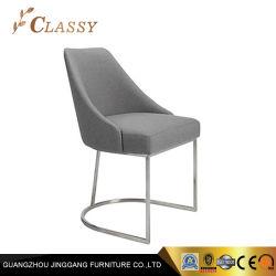 De comfortabele Eettafel van het Fluweel van het Meubilair van de Plaatsing met de Basis van het Metaal