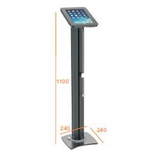 cavo chiudibile a chiave & di carico della colonna di Alu del basamento del pavimento del ridurre in pani & del iPad