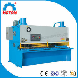 Guillotine-Stahlausschnitt-Maschine (CNC-Schermaschine QC11K)