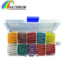 Taille standard des pièces électriques électronique 32VCC accepter l'ordre personnalisé Insérer le fusible de lame en aluminium/Zinc