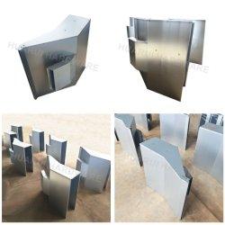 Edelstahl SPCC SECC Aluminium Blech Biegemaschine Teile Futterbox Für Tiere