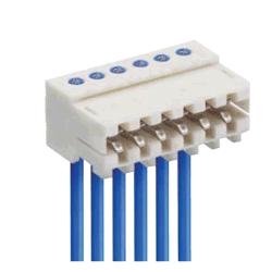 Lumberg 3515 Rast - 2,5 мм Разъем питания с 2.54мм IDC плоский кабель в сборе для печатной платы с производителем Wireharness Whma/Ipc620