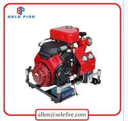 BJ-22b Brandbestrijdingsapparatuur door dieselmotoren aangedreven draagbare brandbestrijding Waterpomp, draagbare dieselbrandpomp, sprinklerpomp voor brandwerende middelen, benzinewaterpomp