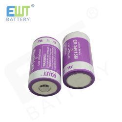بطارية طويلة العمر ممتازة طراز Lisocl2 Ewt Er34615m Li-ion البطارية