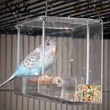 Acrílico personalizados jaulas de reptiles del alimentador de Pet Caso
