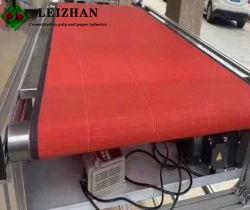 Температура и износостойкость ткани Melt-Blown машины транспортной ленты