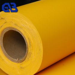 Tissu de polyester Tissu imperméable en PVC bâche PVC tissu tissu à mailles couvercle de la nacelle pour le camion bateau sacs gonflables de tentes