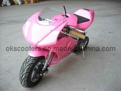 49cc高品質モーターバイクのチェーン駆動機構のポケットバイク