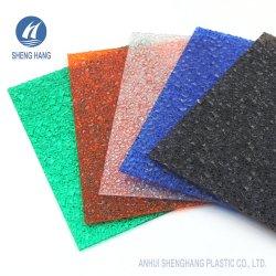 Commerce de gros Sabic feuille Gaufré en polycarbonate pour pare-soleil, l'auvent, toitures
