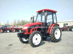 Granja de Weifang Tractor Tractor agrícola de 704 804 con cabina de Foton Motor Yto