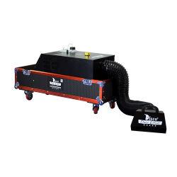 飛行ケースが付いている熱い販売3000W DMXの水の基づいた強力で低い地上霧機械