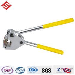 Conduire une pince à d'étanchéité d'appuyer sur le Plomb Le plomb de perforation indicatif joint sceau du compteur d'une pince