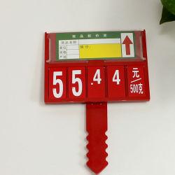 Оптовые цены супермаркетов рамы пластиковый держатель знака наклейке цен
