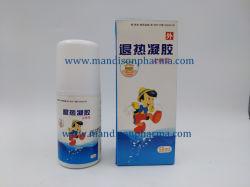 Antipirético yeso Gel 50 ml/botella certificada GMP de la medicina occidental