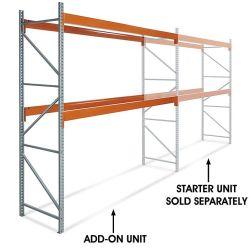 4 niveaux réglables en acier robuste commerciale de l'entrepôt de stockage du fret sur le fil étagère de rack