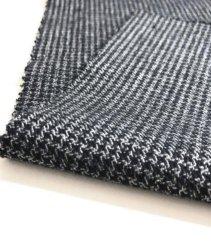 Commerce de gros des usines de semi spandex polyester coton peignée avec tissu Blended Veste d'hiver