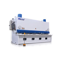 QC11K de guillotina hidráulica CNC Máquina de esquila de la placa de acero de la máquina de corte
