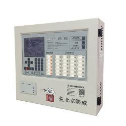 Gran pantalla LED de alarma direccionable sistema funciona con Detector de humo.