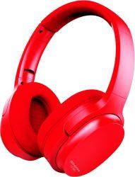 중국 공장 전용 디자인 특허 받은 헤드밴드 스타일 over ear 소음 헤드폰 적색으로 취소하는 중