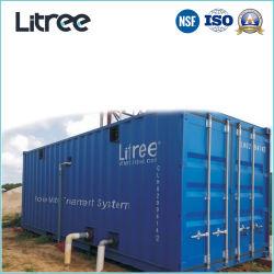 폐수 처리 정화를 위한 Containerized UF 미끄럼