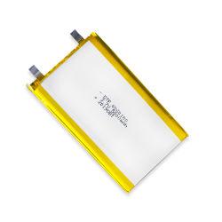 3.7V Polymeer het van uitstekende kwaliteit van het Lithium van de Batterijen 5000mAh van Dtp6060100