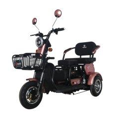 [48ف500و] درّاجة ثلاثية كهربائيّة مع طفلة مقادة