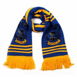 Настроить акриловый дизайн футбольных фанатов футбола трикотажные шарфы