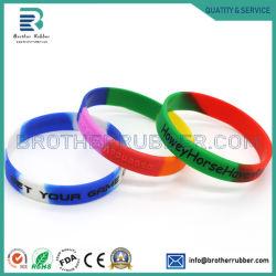 Faixa de relógio de pulso de Silicone Band/Bracelete Pulseira banda de borracha de silicone personalizada