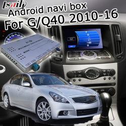 Interfaccia Android del sistema di percorso di GPS video per Infiniti G37 G25 Q40 con la retrovisione automatica Android di Carplay