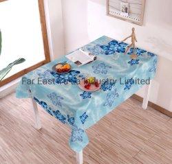 PVCオイルのテーブルクロス防水表の織物