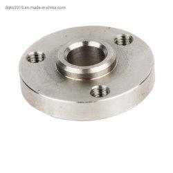 Stainless Sello pequeño reborde, piezas de mecanizado CNC